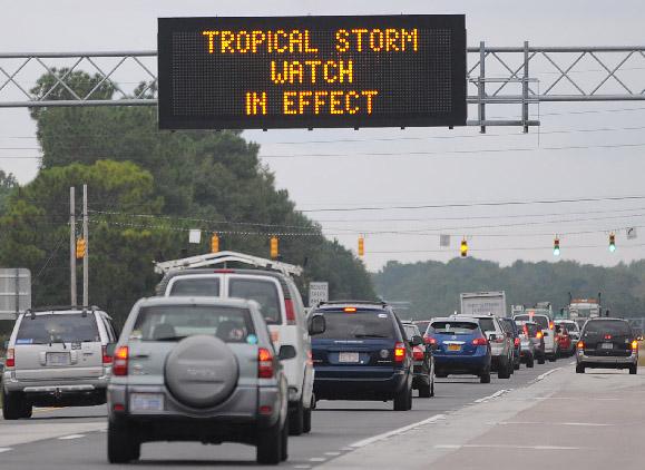 """Sandy"" se convierte en tormenta tropical (Fotos)"