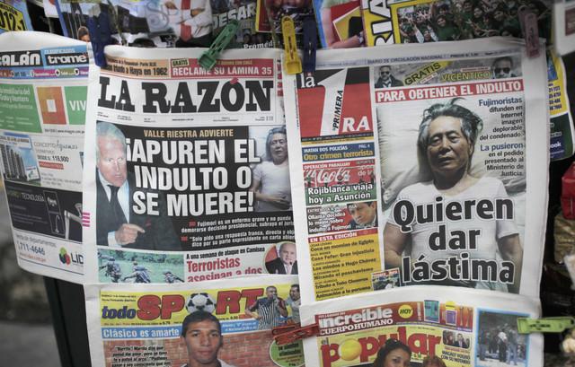 Mayoría de peruanos pide   indulto de Fujimori