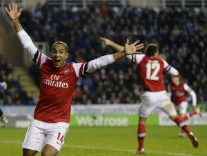 Con increíble remontada Arsenal vence 5-7 a Reading en Copa Inglesa (fotos)