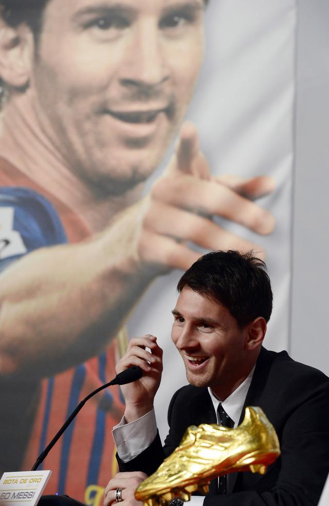 Messi no se cansa de ganar premios