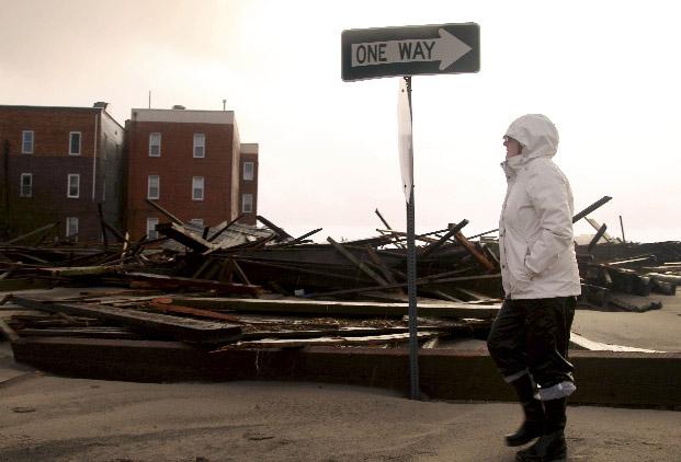 De pie Nueva York tras el paso de Sandy (Video)