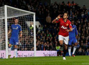 """Anota """"Chicharito"""", pero ManU cae con Chelsea en espectacular duelo (Fotos)"""