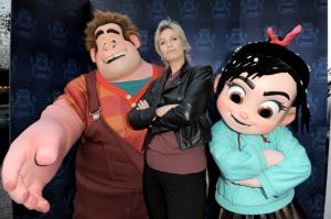 Jane Lynch animada en 'Wreck-It Ralph' (Fotos y video)