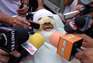 Tres acusados de quemar vivo a periodista boliviano van a la cárcel