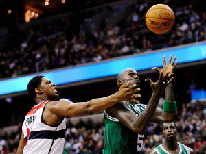 Pierce decide triunfo de Celtics sobre Wizards (Fotos)