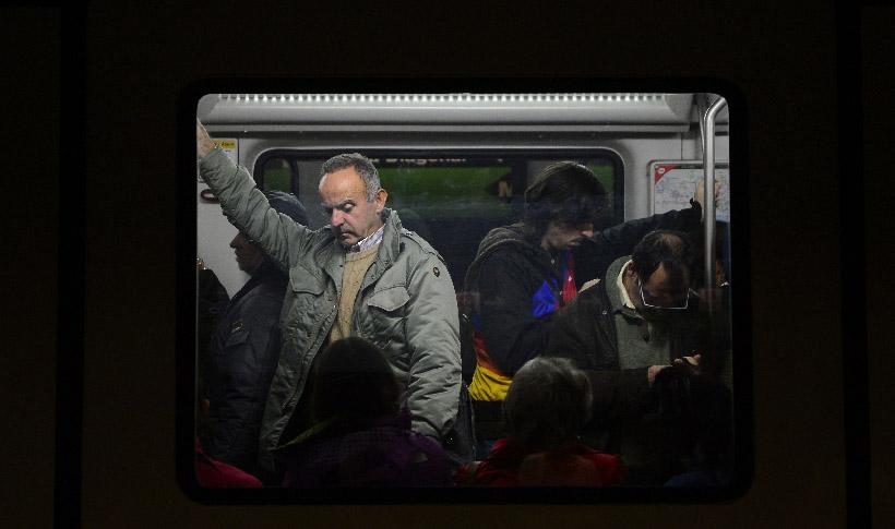 En funcionamiento 80 % de trenes en NY (Fotos)