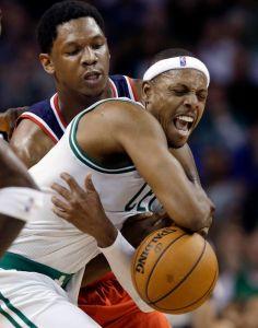 Vencen Celtics 100-94 a Wizards en la prórroga (Fotos)