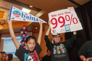 Obama ganó 57% del voto en Illinois con apoyo latino