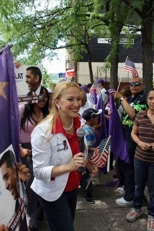 Gabriela Rosa, primera legisladora dominicana de NY