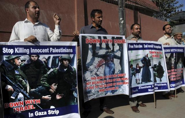 Cesan los bombardeos de Israel a Gaza