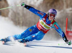 Tina Maze se impone en el gigante de Aspen (Fotos y Video)