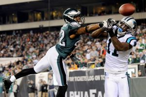 Newton fue la figura de los Panthers y verdugo de los Eagles