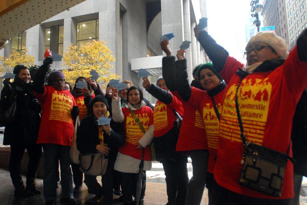 Trabajadoras domésticas denuncian abusos en NYC