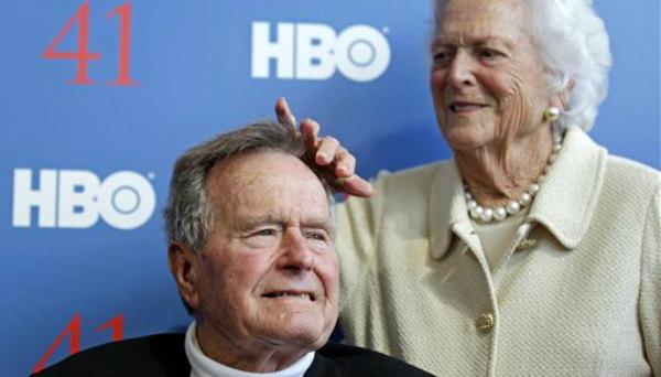 George H. W. Bush: Si acudo a la investidura de Donald Trump acabaré enterrado
