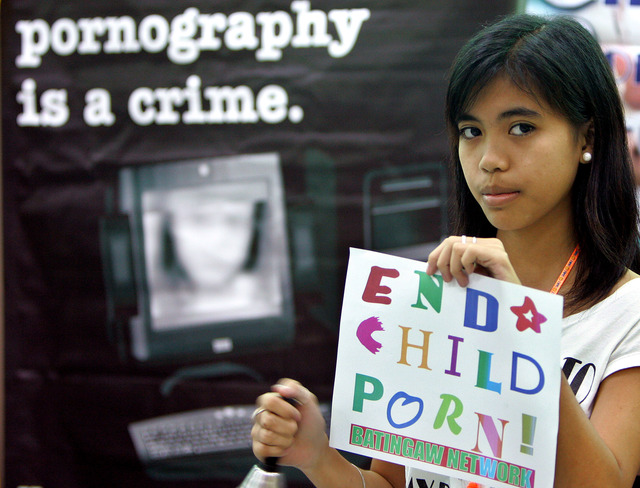 48 países se unen en contra de la pornografía infantil