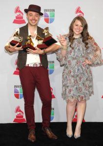 Y los latinos nominados  al Grammy son...