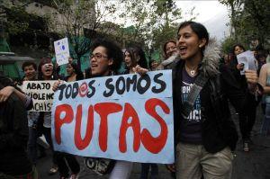 """Realizan una """"Marcha de las Zorras"""" contra la violencia en Honduras"""