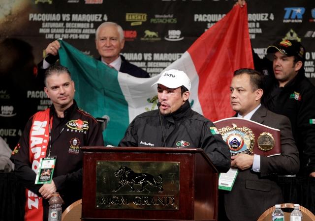 Boxeo mexicano cierra 2012 con el brazo en alto