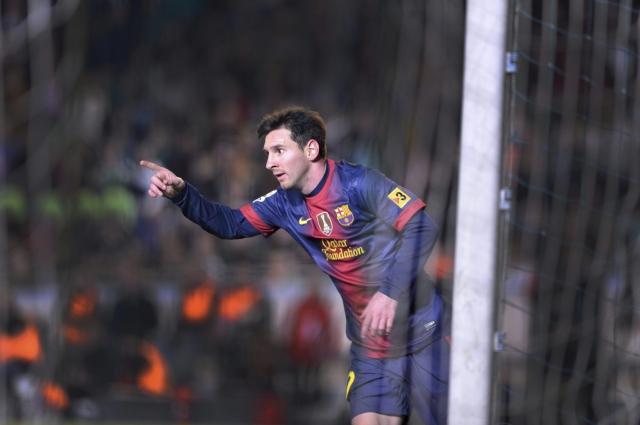 Messi, el hombre del  doblete