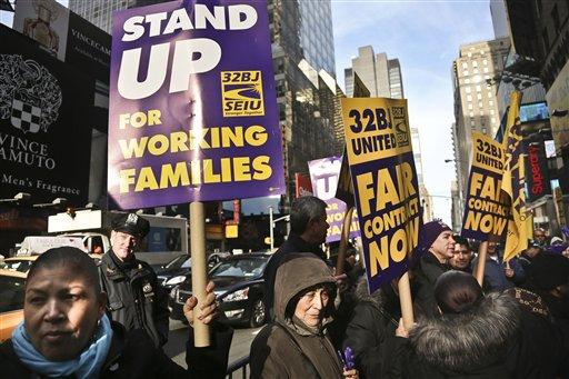 Amenazas de huelga en Broadway y en el JFK