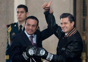 El día que Márquez abrió las puertas de Presidencia (Fotos)