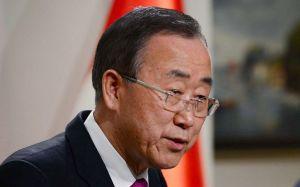 """""""Inconcebible y atroz"""" disparar contra niños: Ban Ki-moon"""