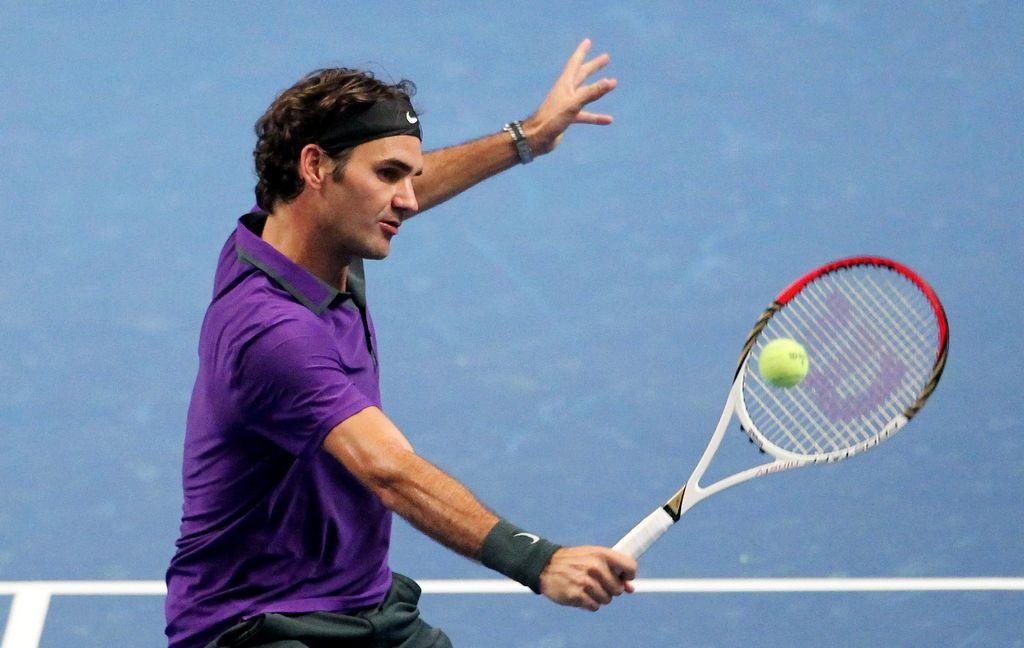 Federer y la magia de un ídolo que hizo vibrar a la afición de Bogotá (Fotos)