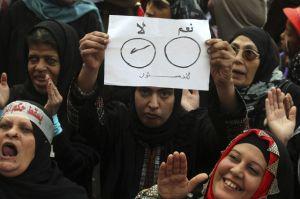 Masiva votación en Egipto por la nueva Constitución