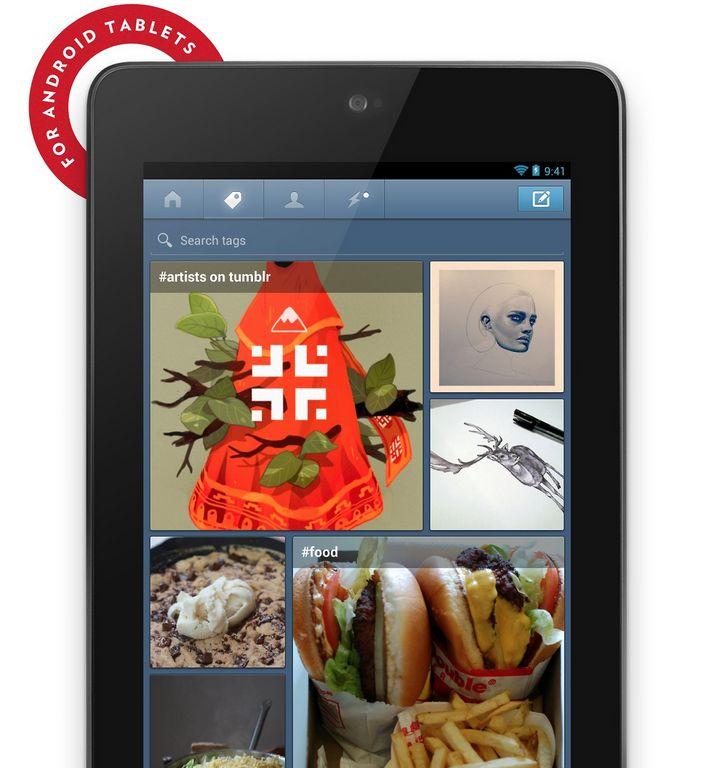 Tumblr ya está disponible para tabletas Android