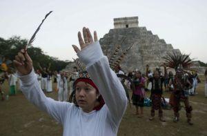 El pueblo maya pide unidad, paz y respeto