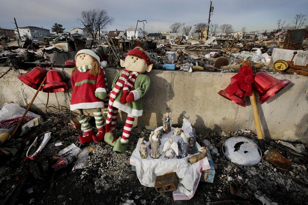 La Navidad no llega para afectados por Sandy