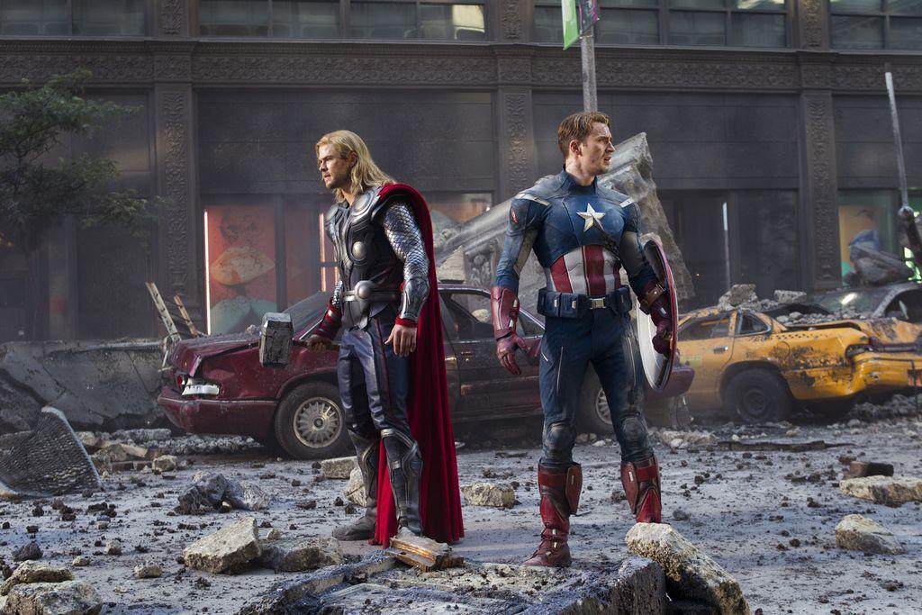 Las películas más taquilleras del 2012 (Fotos)