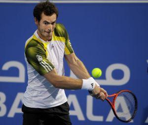 Andy Murray sufre revés en Abu Dhabi (Fotos)