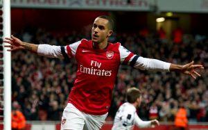 Arsenal aplasta 7-3 a Newcastle, con triplete de Walcott (Fotos)