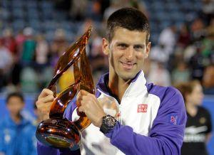 Djokovic, campeón de Abu Dhabi y reafirma supremacía (Fotos)
