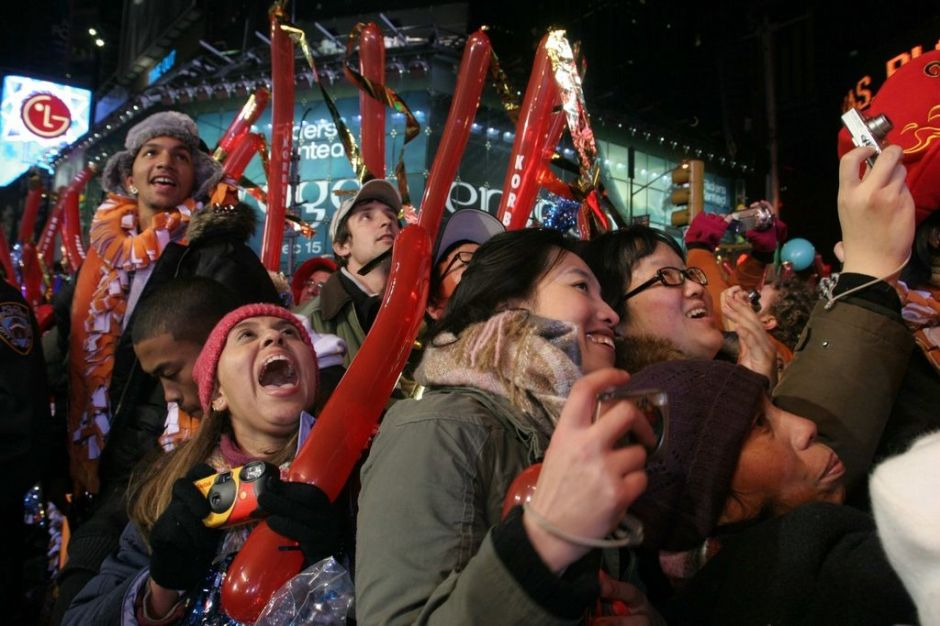 Times Square lista para recibir el 2013 (Fotos y video)