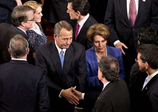 Boehner es reelegido presidente de Cámara de Representantes