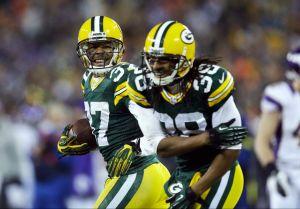 Packers avanzan a la serie divisional, tras vencer a Vikings