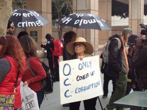 Protestan por acuerdo hipotecario