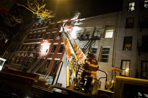 Discusión entre examantes detonó incendio fatal en Soho (fotos)