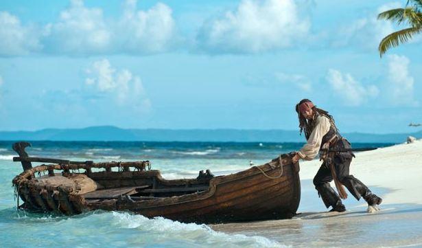 """Prevén quinta parte del filme """"Piratas del Caribe"""""""