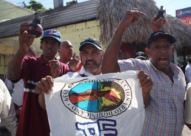 Botan del PRD al expresidente dominicano Hipólito Mejía