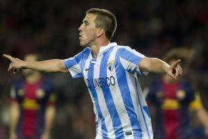 Copa del Rey: Málaga saca empate 2-2 en Barcelona (Fotos)