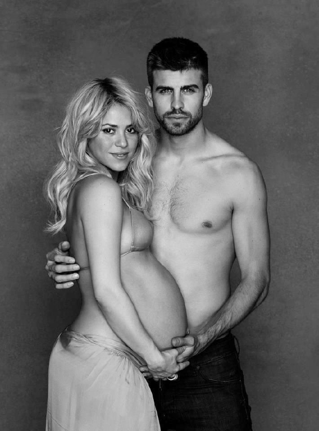 'Baby Shower' mundial para Shakira