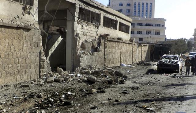 Triple atentado en Siria
