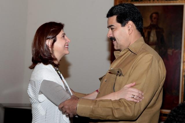 Maduro garantiza alimentos en Venezuela