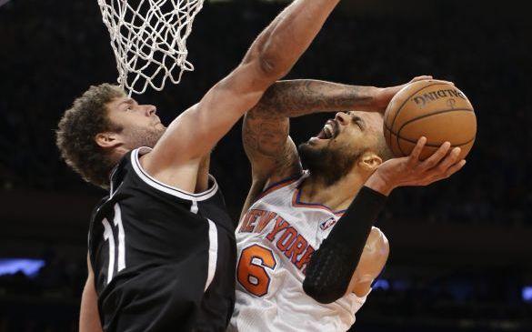 Nets superan a los Knicks y empatan la serie