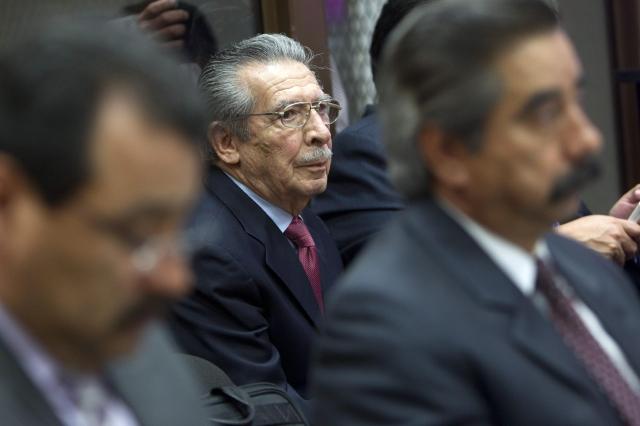 Piden condenar a exdictador Ríos Montt