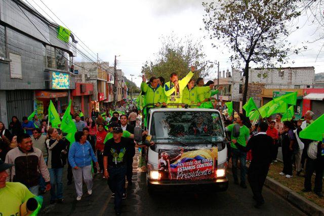 Aprueban conteo rápido en elecciones de Ecuador