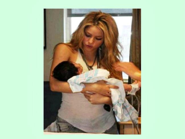 Milan bendice con dos éxitos más a Shakira y Piqué (fotos)
